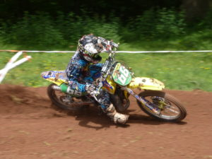 Nathan Bache in BW85 action