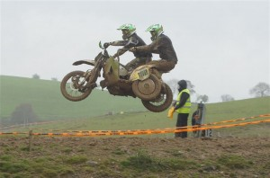Sidecar winners - Bradford and Peters