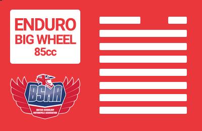 Enduro Big Wheel 85cc