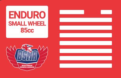Enduro Small Wheel 85cc