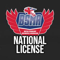 BSMA NATIONAL LICENSE